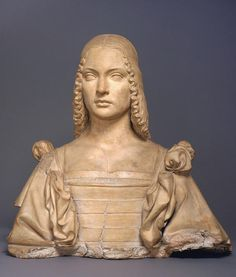 """In much Renaissance female portraiture, including that of Isabella d'Este, Marchioness of Mantua, a faithful likeness was less desirable than an idealized beauty that represented the sitter's virtue. 