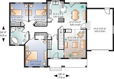 Three Bedrooms or Two - You Choose - 21721DR   Architectural Designs - House Plans