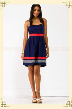 cast away dress - #francescascollection bought this to wear to matt & lindsey's baseball stadium wedding this weekend!