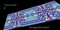 Bead loom bracelet pattern   cuff jewelry by TheHappyBeadsCabinet