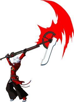 Ragna's scythe