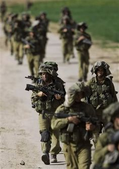 IDF soldiers operating in Gaza return to Israel.