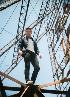 Where will your journey take you? Zac Efron explores the rooftops of New York City in the new campaign