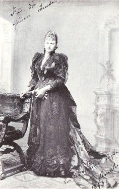 A stylish and elegant princess Amelie in Bayern born Saxe-Coburg-Gotha