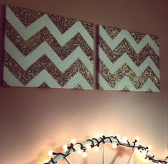 You could make this chevron decorations ! Love! Diy |Pinned from PinTo for iPad|