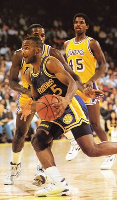 "Tim Hardaway was six feet tall, he was best known for his devastating crossover dribble (dubbed the ""UTEP Two-step"" by analysts), a move which he helped to popularize among younger players. In his best seasons, Hardaway averaged 18 to 23 points and 8 to 10 assists per game. He reached 5,000 points and 2,500 assists faster than any NBA player, except Oscar Robertson. Hardaway also competed in five NBA All-Star Games."