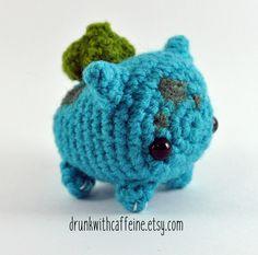 Mini Bulbasaur from Original Starter Pokemon | Marshmallow edition by…