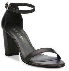 8d97c82f3a3 Stuart Weitzman Nearlynude Leather Block Heel Sandals https   api.shopstyle .com