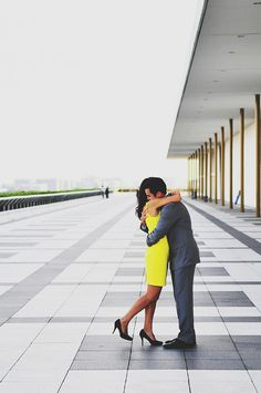 A Gorgeous Washington DC Engagement Session at JFK Center For The Performing Arts & Enid A. Haupt Garden