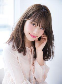 リラクシーなゆるストミディ* 【Ramie】 http://beautynavi.woman.excite.co.jp/salon/27006?pint ≪ #mediumhair #mediumstyle #mediumhairstyle #hairstyle・ミディアム・ヘアスタイル・髪形・髪型≫