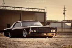 Lincoln Continental, slammed.
