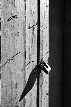 Stephania Dapolla, Door in Hydra island, Greece
