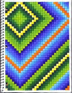 Students use graph paper to create art. This is a great project for students who finish art assignments early or for those days you have a sub. Graph Paper Art, Pixel Pattern, Pattern Art, Art Assignments, Cool Art Projects, Art Lessons Elementary, Elements And Principles, Art Classroom, Scrappy Quilts