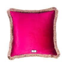 pink silk velvet cushions - Google Search Velvet Cushions, Pink Silk, Throw Pillows, Google Search, Bed, Home, Toss Pillows, Cushions, Stream Bed