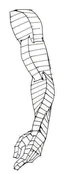 """湯浅誠さんのツイート: """"腕の流れの単純化 これを考えるようになってから、空間の中で人体を描くのがだいぶ楽になった。… """""""
