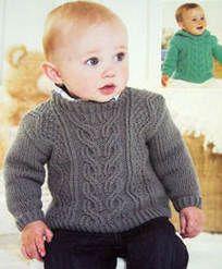 Free Aran Knitting Patterns Children : chambrita para bebe recien nacido en dos agujas... Proyectos realizados P...