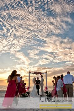 A Sandpearl Resort Wedding • Clearwater Beach. P.L. Carrillo Photography
