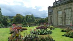 Lyme Park Derbyshire UK, the gardens were immaculate as all of them in English style