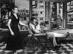 Rear Window - my all time fave alfred hitchcock flick!