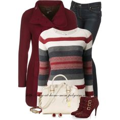 """JOIE 'Azia' knit sweater"" by stay-at-home-mom on Polyvore"