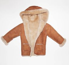 100% British Sheepskin Baby Hooded Jacket | Products, Babies and ...