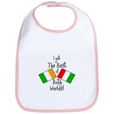 irish italian bib