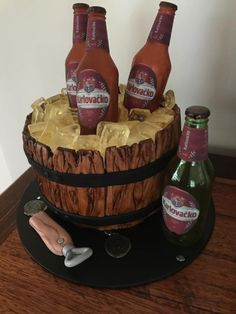 Beer Barrel Cake by xoxcakexox