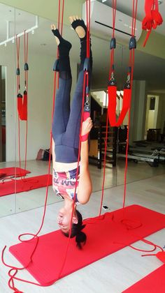 Redcord headstand