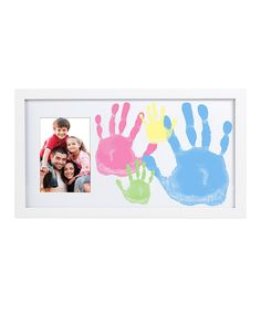 Another great find on #zulily! Pearhead Family Handprint Frame by Pearhead #zulilyfinds
