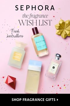 Spoil loved ones (and yourself!) with bestselling fresh fragrances.