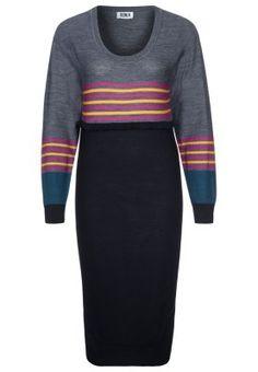 RAYURE - Strikket kjole - sort