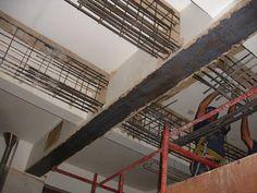 Reforço de estrutura de concreto armado mediante a criação de novas vigas de concreto armado e reforço de vigas existentes com fibra de carbono. Tecknicas Especiais de Engenharia » Blog Archive » Indústria – MG