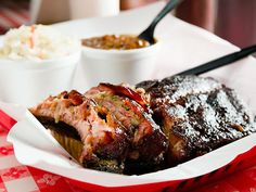 Named Best Ribs in America by the Food Network, Established Pappy's Smokehouse is a fast casual Memphis-style bbq, located in Midtown St. Cajun Recipes, Italian Recipes, Out To Lunch, Food Stall, Smokehouse, Fish And Chips, Southern Recipes, Fritters, Food Plating
