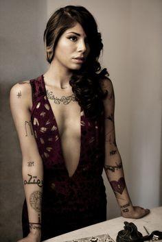 32 Swell Christina Perri Tattoos | CreativeFan/ I really want the maktub tattoos and the balloon themed tatts <3