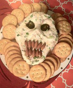 Zombie Cheese Ball