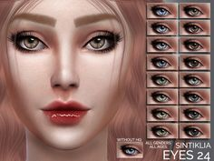 For all genders and all ages Found in TSR Category 'Sims 4 Female Costume Makeup' The Sims, Sims 4 Cas, Sims 1, Sims 4 Cc Eyes, Sims 4 Cc Skin, Queen Makeup, Sims 4 Update, Gloss Lipstick, Sims Community