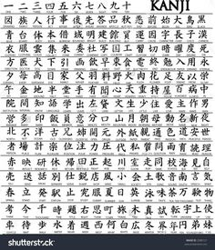 Japanese is a language spoken by more than 120 million people worldwide in countries including Japan, Brazil, Guam, Taiwan, and on the American island of Hawaii. Japanese is a language comprised of characters completely different from Learn Japanese Words, Japanese Phrases, Study Japanese, Learn Chinese, Kanji Alphabet, Alphabet Writing, Chinese Alphabet, English Alphabet, Alphabet Letters