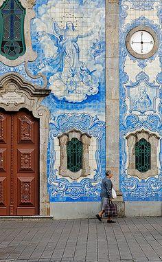 Igreja do carvalhido - Porto, Portugal