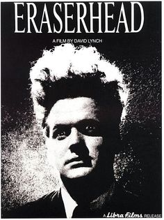 Film poster for Eraserhead featuring the character of Henry Spencer.