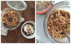 granola Granola, Healthy Sweets, Cereal, Oatmeal, Food And Drink, Breakfast, Recipes, Clean Eating Sweets, The Oatmeal
