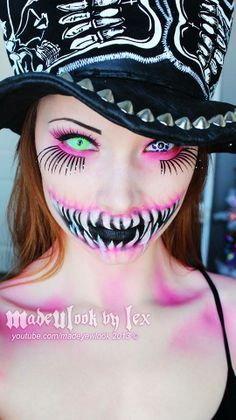 scary she wolf makeup - Google Search
