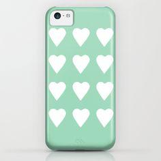 #hearts #heart #love #mint #green #white #projectm