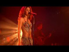 Shakira performing Ojos Asi...great combo of latino and middle eastern melodies