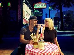 """Dancing With the Stars - Tony Dovolan & Suzanne Somers rehearse """"Lady and the Tramp"""" - Season 20 - week-5 Disney Night - Spring 2015"""