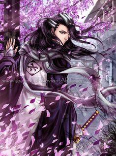 Bleach - Byakuya: Looking Back by =keelerleah on deviantART