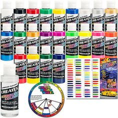 Pearl White Fast Deliver Createx Colors Paint For Airbrush 8 Oz