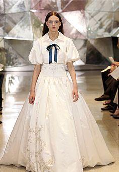 Stepford Wife wedding dress