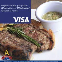 En Angus Brangus Parrilla Bar   todas las noches #MartesVisa recibes 30% de dto. para que disfrutes lo mejor de la parrilla en calidad Brangus.   Reservas: 2321632 - 310 7006602. http://www.angusbrangus.com.co/alianzasydescuentos/ Cra. 42 # 34 - 15 / Vía las Palmas.  #restaurantesmedellín #AngusBrangus #medellín #langostinos #ofertaespecial #gastronomía #medellíntown #medellíncity #medellínsisabe #poblado #noches #noche #Cena Visa  BBVA Colombia  Bancolombia