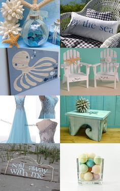 LOVE this Etsy beach treasury --Pinned with TreasuryPin.com #castteam