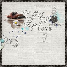 Perfectly Imperfect, Digital Scrapbooking, Fonts, Artsy, Layout, Kit, Create, Shop, Designer Fonts